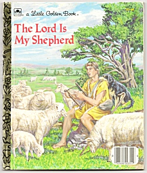 THE LORD IS MY SHEPHERD - Little Golden Book (Image1)