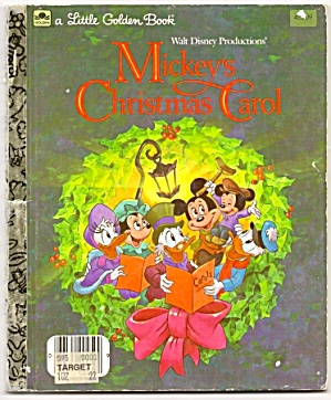 Mickey's Christmas Carol- Little Golden Book