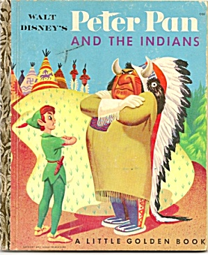 PETER PAN AND THE INDIANS - Disney - Little Golden Book (Image1)