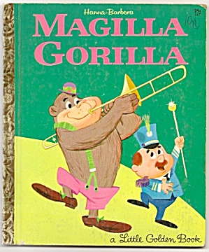 MAGILLA GORILLA - Little Golden Book - 1964 (Image1)