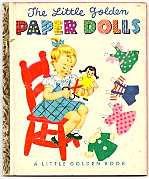 Little Golden Paper Dolls Book