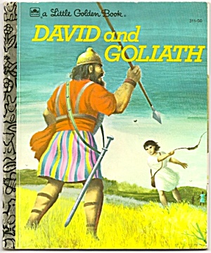 David And Goliath - Little Golden Book