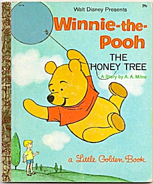 Winnie-the-pooh The Honey Tree - Little Golden Book