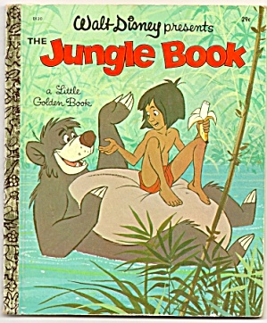 Jungle Book A First Edition - Little Golden Book