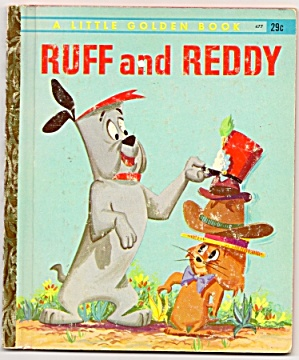 Ruff And Reddy - Little Golden Book