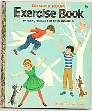 Romper Room Exercise Book -1964
