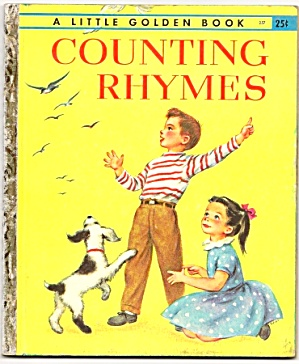 Counting Rhymes - Little Golden Book - Malvern