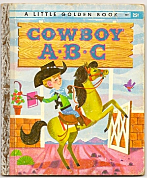 Cowboy Abc - Little Golden Book