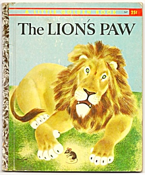 The Lion's Paw - Little Golden Book