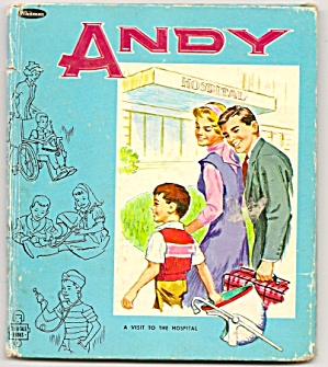ANDY A VISIT TO THE HOSPITAL - Tell-A-Tale Book - 1966 (Image1)