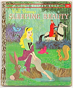 SLEEPING BEAUTY - Disney - Little Golden Book -1957 (Image1)