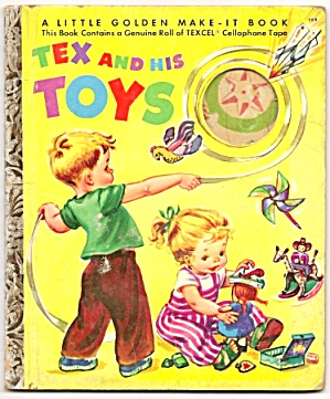 TEX AND HIS TOYS - Little Golden Book (Image1)