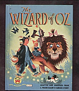 The Wizard Of Oz - Wonder Book - 1957
