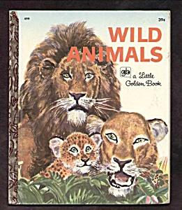 WILD ANIMALS - Little Golden Book (Image1)