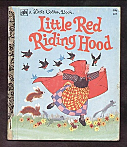 Little Red Riding Hood - Little Golden Book