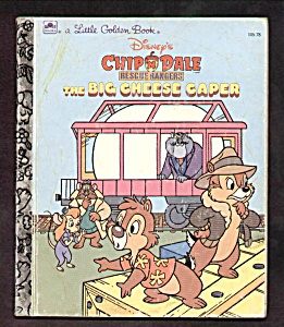 CHIP 'N DALE The Big Cheese Caper - LITTLE GOLDEN BOOK (Image1)
