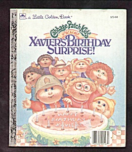 Cabbage Patch Kids Xaviers Birthday Surprise - Lgb
