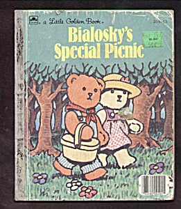 Bialoskys Special Picnic - Little Golden Book