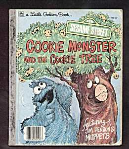 Cookie Monster And The Cookie Tree - Little Golden Book