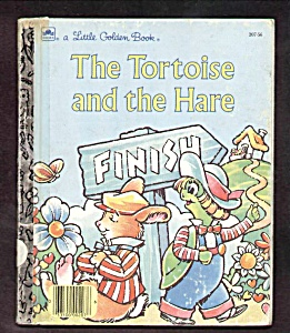 Tortoise And The Hare - Little Golden Book