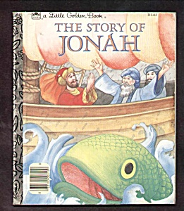 The Story Of Jonah - Little Golden Book