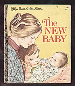The New Baby - Eloise Wilkin - Little Golden Book