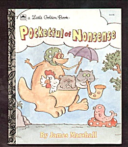 Pocketful Of Nonsense - Little Golden Book
