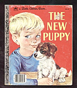 NEW PUPPY - Little Golden Book (Image1)
