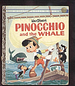 PINOCCHIO AND THE WHALE - Little Golden Book (Image1)