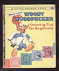 Woody Woodpecker Drawing For Beginners - L. Golden Book