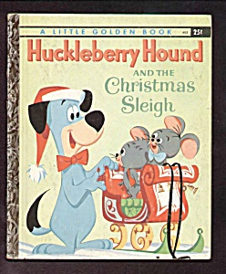Huckleberry Hound And The Christmas Sleigh - Lgb