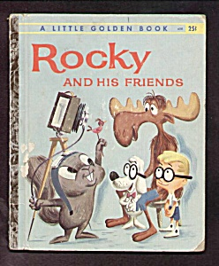 Rocky And His Friends - Little Golden Book