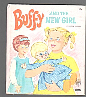 Buffy In The New Girl Tell A Tale Book - 1969