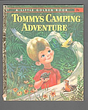 Tommys Camping Adventure - Little Golden Book