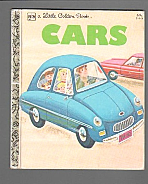 Cars 1979 Little Golden Book