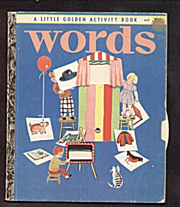 Words - Little Golden Activity Book