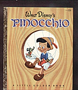 Walt Disney Pinocchio - Little Golden Book