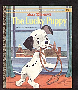 DISNEY LUCKY PUPPY (101 Dalmatians)- Little Golden Book (Image1)