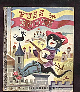 Puss In Boots - Little Golden Book - 1952