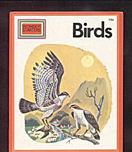 Birds Wonder Starters Childrens Book 1973