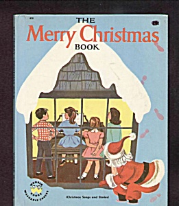 Merry Christmas Book - Wonder Book - 1953