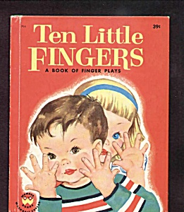 Ten Little Fingers Wonder Book #714