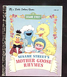 Sesame Street Mother Goose Rhymes Little Golden Book
