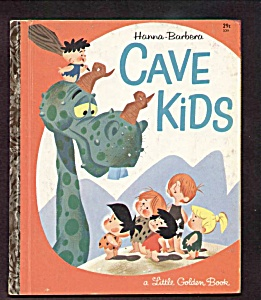 Cave Kids - Hanna-barbera - 1963 Little Golden Book