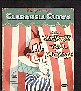 Howdy Doody Clarabell Merrygoround Tell-a-tale Book