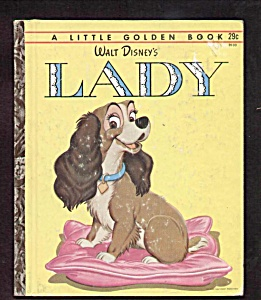 Walt Disney Lady - Little Golden Book
