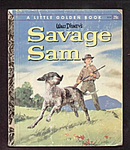 Walt Disney Savage Sam - Little Golden Book
