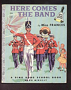 HERE COMES THE BAND Ding Dong School Book (Image1)
