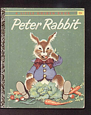 PETER RABBIT Little Golden Book - A Edition (Image1)
