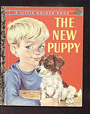 New Puppy - Little Golden Book
